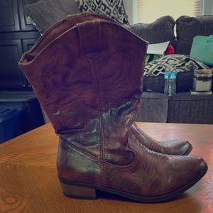 Cowgirl boots from target